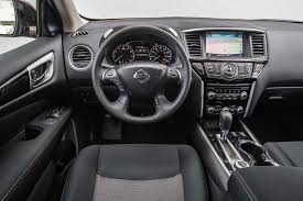 black nissan pathfinder 2014 2017 nissan pathfinder sv first test review motor trend