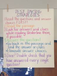 test taking strategies read 180 pinterest anchor charts