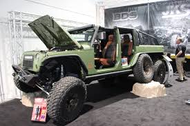sema jeep yj jeep wrangler named hottest 4x4 of 2017 sema show off road com blog