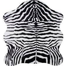 Zebra Area Rug 8x10 Decoration Grey Faux Cowhide Rug Cow Hides Rugs Animal Print