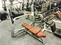 technogym selection line flat olympic bench forsale in