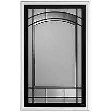 exterior door glass insert replacement shop entry door inserts at homedepot ca the home depot canada