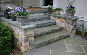 types of stone steps concord stoneworks
