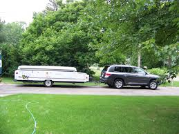 toyota highlander towing towing report 2014 hl limited with 4 000 lb fleetwood popup
