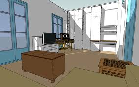 How To Draw Floor Plans In Google Sketchup by Using Google Sketchup To Test Room Layouts Catmacey U0027s Stuff