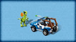 jurassic park car toy 75916 dilophosaurus ambush products jurassic world lego com