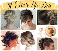 Easy Wedding Hairstyles For Short Hair by Easy To Do Updo Hairstyles Hairstyles Easy Updos 10 Min Hair