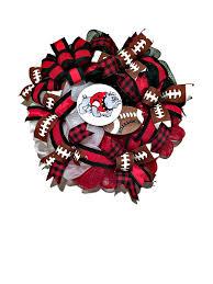 dawgs wreath uga wreath deco mesh georgia wreath red black