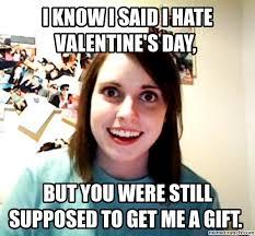 I Hate Valentines Day Meme - hate valentine s day