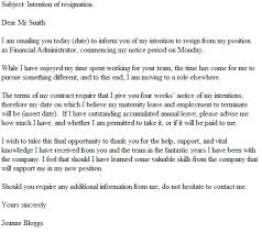 email resignation letter example resignation letter examples