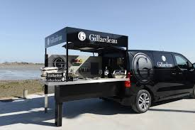 peugeot van 2017 peugeot designs food truck for luxury oyster farmer
