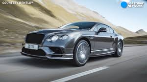 bentley bentley continental gt hits 207 mph