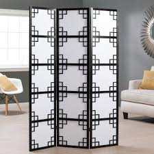 black room divider room dividers double your space room refresh hayneedle