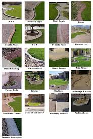 concrete curbing landscape parking lot beautifies the designs and