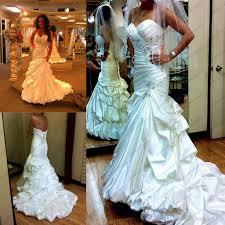 2014 gorgeous satin mermaid wedding dresses under 220 strapless