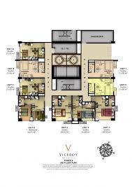 viceroy residences building plans