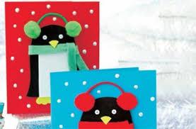 christmas cards to make christmas penguin cards goodtoknow