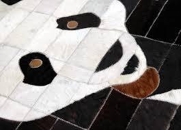 Cowhide Runner Rug Handmade Cowhide Patchwork Rug Kpr 32 Celestial Leather Limited