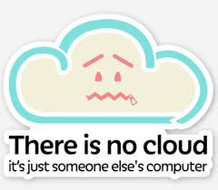 I Became A Cloud Meme - is the cloud really just someone else s computer techrepublic