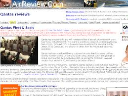 qantas reviews fleet aircraft seats u0026 cabin comfort