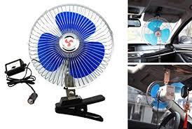 plug in car fan amazon com happykueen 12v 8 inch car oscillating fan automobile car