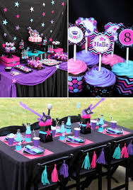 birthday party decoration ideas kara s party ideas girly rock pink birthday party
