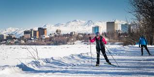 cross country skiing visit anchorage