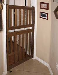 Child Gates For Stairs With Banisters How To Install Your Wooden Swing Gate Ideal Dog Gate And Safety