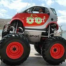 smart car monster trucks