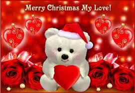 merry christmas romantic wishes girlfriend boyfriend