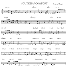 Southern Comfort Zone Southern Comfort Lead Sheet