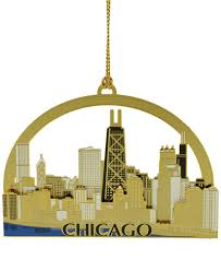 chemart macy s exclusive chicago skyline ornament