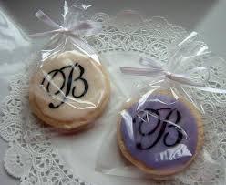 Cookie Favors by Yadkin Valley Cookies Wedding Anniversary