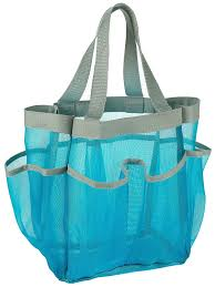 amazon com 7 pocket shower caddy tote blue keep your shower amazon com 7 pocket shower caddy tote blue keep your shower essentials within easy reach shower caddies are perfect for college dorms gym shower