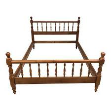 How To Build A Cal King Platform Bed Frame by Beds Unique Pieces Ready To Ship Today Chairish