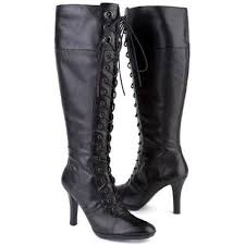s boots nine 84 nine boots sale ninewest black leather kneehigh