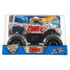 diecast monster jam trucks wheels monster jam zombie vehicle walmart com