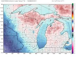 Map Of Upper Michigan by Was Michigan U0027s Fruit Crop Damaged By Last Night U0027s Cold