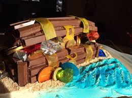 how to make a pirate treasure chest birthday cake recipe snapguide