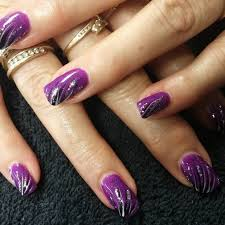 purple a photo gallery purple nail designs pictures at best