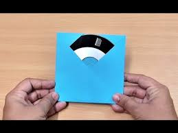 Origami Cd Cover - how to make origami paper cd dvd cover origami paper folding