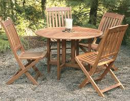 Wood Outdoor Patio Furniture Celebration Drop Leaf Table 880 3285