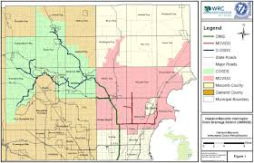 Oakland Map New Water Commissioner Oakland County Red Run