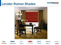 Levolor Roman Shades - your window to energy avings u201d ppt download