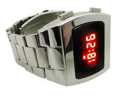 amazon com led watch tx8 multifunction red display digital 70s