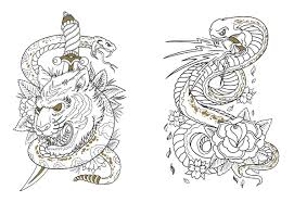 cool tattoo coloring pages to print coloringstar