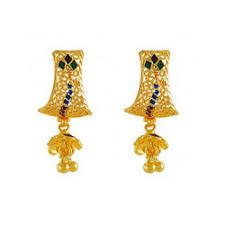 bengali earrings gold earrings in howrah west bengal sone ki baliyan
