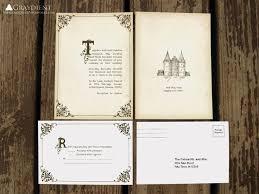 Fairytale Wedding Invitations 115 Bästa Bilderna Om Storybook Theme Auction På Pinterest