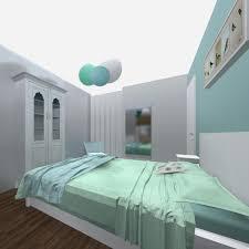 chambre bébé gris et turquoise chambre garcon bleu turquoise peinture chambre enfant ides fraches