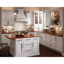 Kraftmade Kitchen Cabinets by In Hampton Sink Base Cabinet In Medium Oak Ksb36 Mo The Home Depot